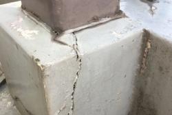 ブロックの破損